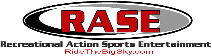 Logo of RASE LLC and ridehtebigsky.com